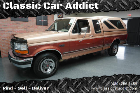 1994 Ford F-150 for sale at Classic Car Addict in Mesa AZ