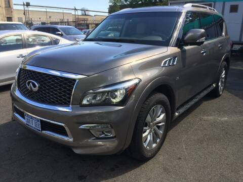 2017 Infiniti QX80 for sale at LUXURY OF QUEENS,INC in Long Island City NY