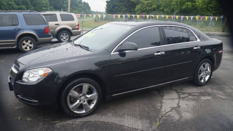 2012 Chevrolet Malibu for sale at G & R Auto Sales in Charlestown IN