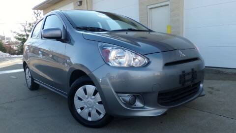 2015 Mitsubishi Mirage for sale at Prudential Auto Leasing in Hudson OH