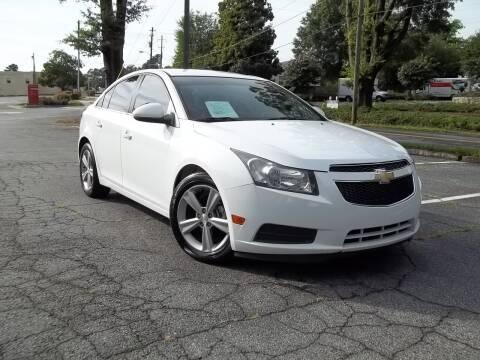 2013 Chevrolet Cruze for sale at CORTEZ AUTO SALES INC in Marietta GA