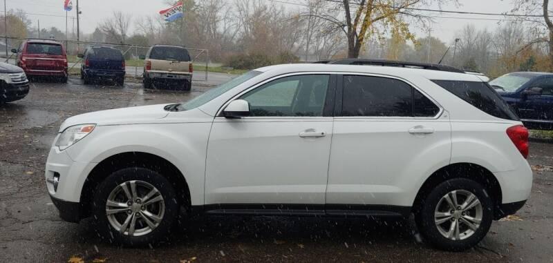2012 Chevrolet Equinox for sale at Superior Motors in Mount Morris MI