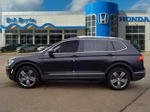 2020 Volkswagen Tiguan for sale at BOB BOYTE HONDA in Brandon MS
