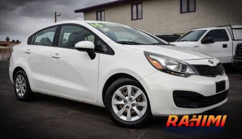 2015 Kia Rio for sale at Rahimi Automotive Group in Yuma AZ