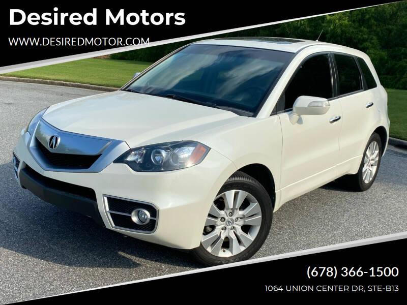 2011 Acura RDX for sale at Desired Motors in Alpharetta GA