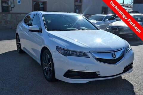 2015 Acura TLX for sale at LAKESIDE MOTORS, INC. in Sachse TX