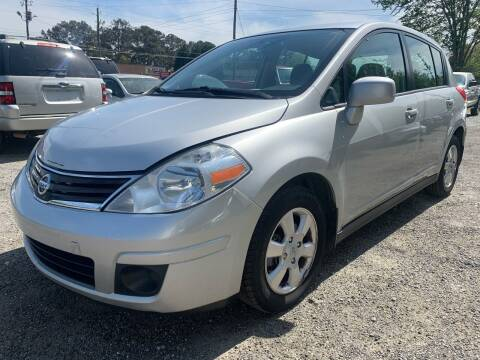 2012 Nissan Versa for sale at ATLANTA AUTO WAY in Duluth GA