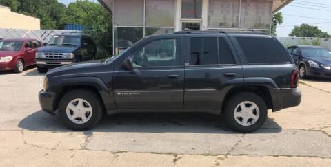 2003 Chevrolet TrailBlazer for sale at Velp Avenue Motors LLC in Green Bay WI