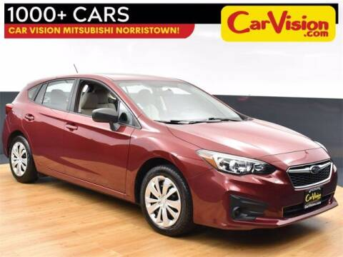 2018 Subaru Impreza for sale at Car Vision Buying Center in Norristown PA