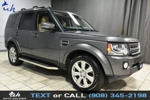2016 Land Rover LR4 for sale at AUTO HOLDING in Hillside NJ