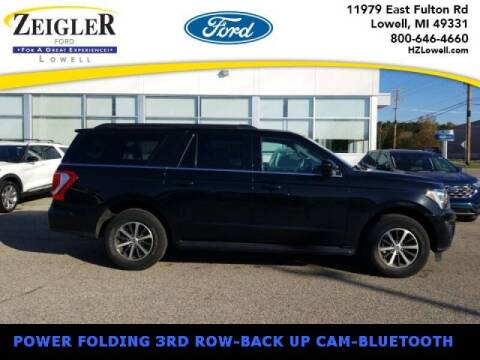 2019 Ford Expedition MAX for sale at Zeigler Ford of Plainwell- michael davis in Plainwell MI
