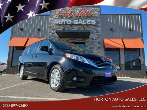 2016 Toyota Sienna for sale at HORTON AUTO SALES, LLC in Linn MO