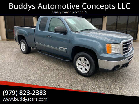2013 GMC Sierra 1500 for sale at Buddys Automotive Concepts LLC in Bryan TX