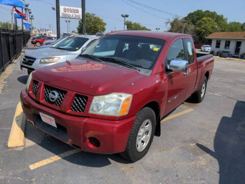 2005 Nissan Titan for sale at Affordable Autos in Wichita KS