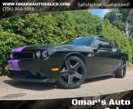 2013 Dodge Challenger for sale at Omar's Auto Sales in Martinez GA
