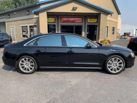 2012 Audi A8 L for sale at Advantage Auto Sales in Garden City ID