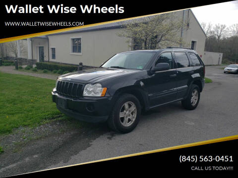2006 Jeep Grand Cherokee for sale at Wallet Wise Wheels in Montgomery NY