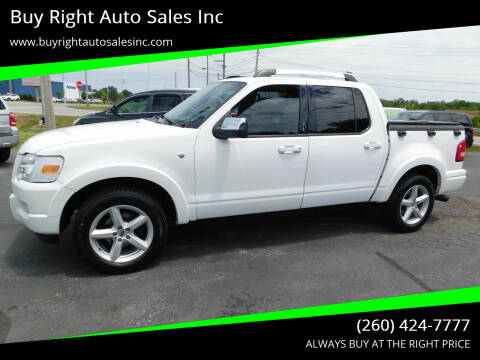 2007 Ford Explorer Sport Trac for sale at Buy Right Auto Sales Inc in Fort Wayne IN