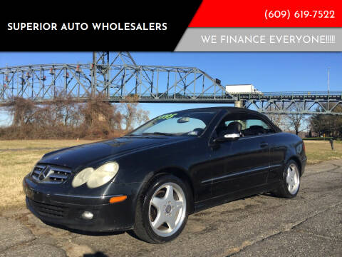2006 Mercedes-Benz CLK for sale at Superior Auto Wholesalers in Burlington City NJ