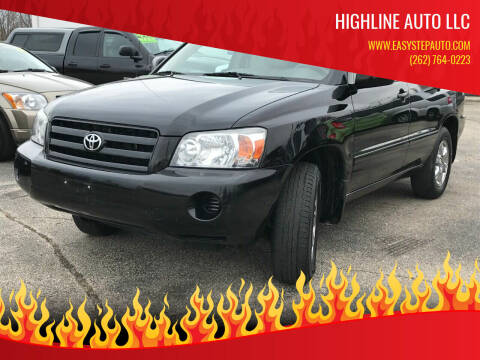 2007 Toyota Highlander for sale at HIGHLINE AUTO LLC in Kenosha WI