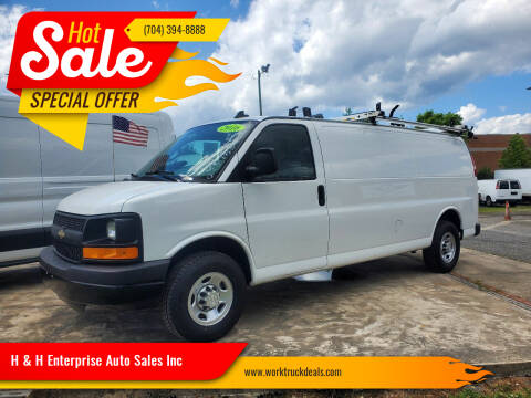 2016 Chevrolet Express Cargo for sale at H & H Enterprise Auto Sales Inc in Charlotte NC