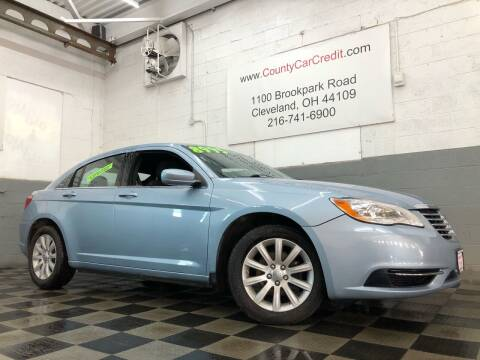 2014 Chrysler 200 for sale at County Car Credit in Cleveland OH