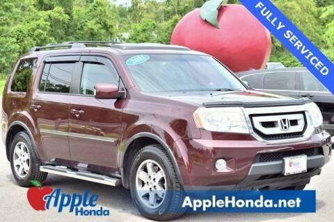 2011 Honda Pilot for sale at APPLE HONDA in Riverhead NY