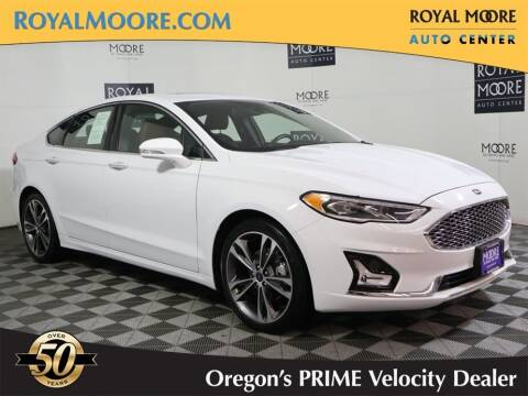 2020 Ford Fusion for sale at Royal Moore Custom Finance in Hillsboro OR