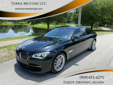 2013 BMW 7 Series for sale at Terra Motors LLC in Jacksonville FL