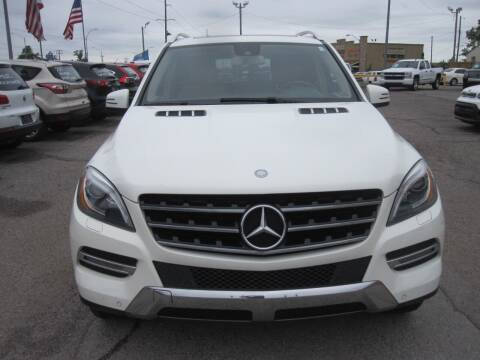 2013 Mercedes-Benz M-Class for sale at T & D Motor Company in Bethany OK