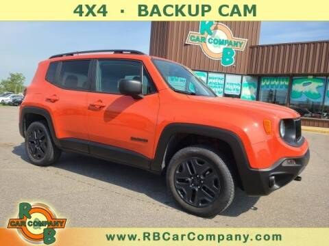 2018 Jeep Renegade for sale at R & B Car Co in Warsaw IN