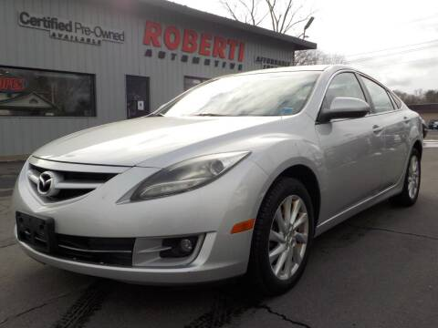 2012 Mazda MAZDA6 for sale at Roberti Automotive in Kingston NY