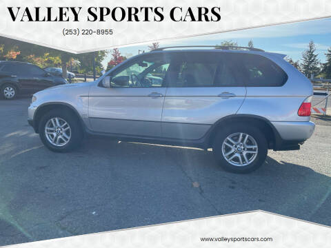 2005 BMW X5 for sale at Valley Sports Cars in Des Moines WA