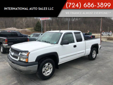 2004 Chevrolet Silverado 1500 for sale at INTERNATIONAL AUTO SALES LLC in Latrobe PA
