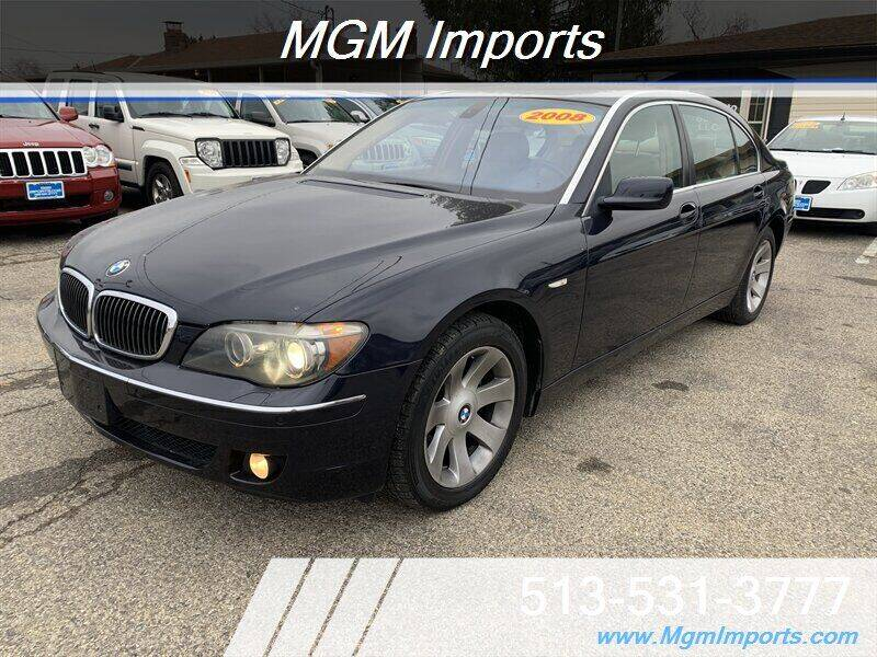 2008 BMW 7 Series for sale at MGM Imports in Cincinnati OH