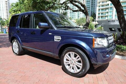 2012 Land Rover LR4 for sale at Choice Auto in Fort Lauderdale FL