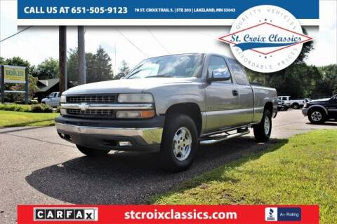 2001 Chevrolet Silverado 1500 for sale at St. Croix Classics in Lakeland MN