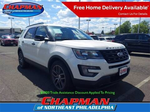 2016 Ford Explorer for sale at CHAPMAN FORD NORTHEAST PHILADELPHIA in Philadelphia PA