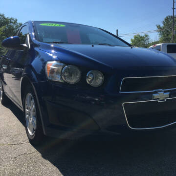 2013 Chevrolet Sonic for sale at Thompson Auto Diagnostics / Auto Sales Division in Mishawaka IN