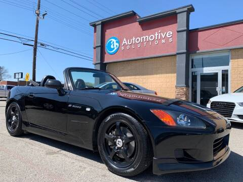 2001 Honda S2000 for sale at Automotive Solutions in Louisville KY