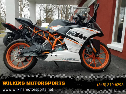 2016 KTM RC 390 ABS for sale at WILKINS MOTORSPORTS in Brewster NY