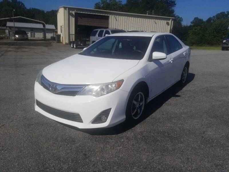 2012 Toyota Camry for sale at Brewster Used Cars in Anderson SC