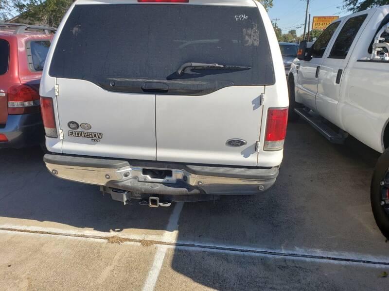 2005 Ford Excursion XLT 4dr SUV - Dallas TX