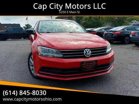 2015 Volkswagen Jetta for sale at Cap City Motors LLC in Columbus OH