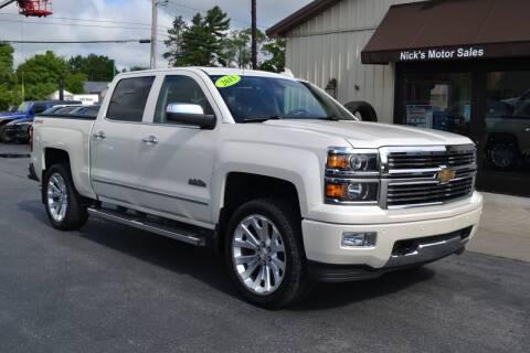 2015 Chevrolet Silverado 1500 for sale at Nick's Motor Sales LLC in Kalkaska MI