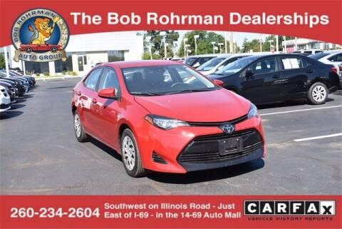 2019 Toyota Corolla for sale at BOB ROHRMAN FORT WAYNE TOYOTA in Fort Wayne IN
