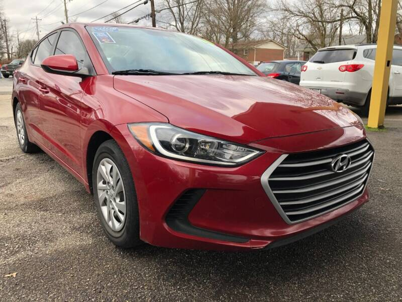 2017 Hyundai Elantra for sale at King Louis Auto Sales in Louisville KY