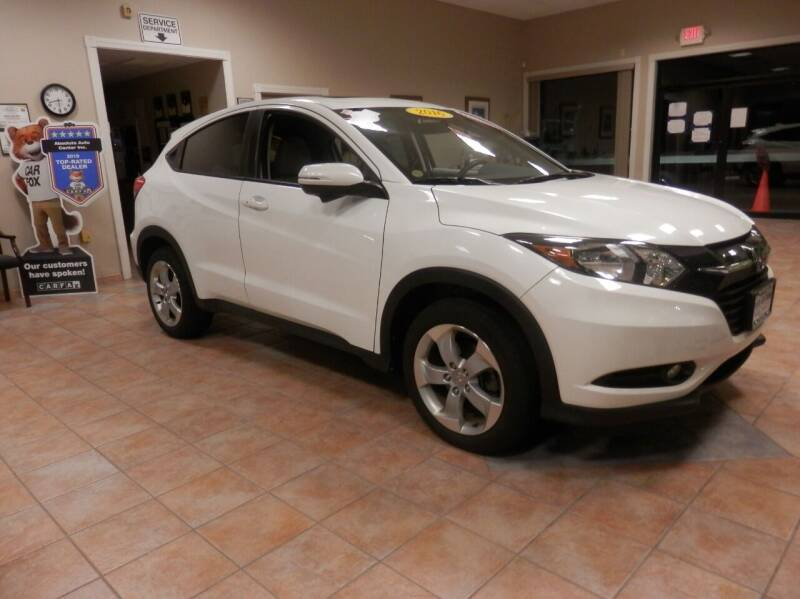 2016 Honda HR-V for sale at ABSOLUTE AUTO CENTER in Berlin CT
