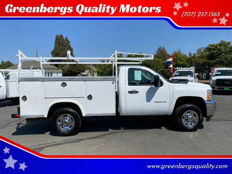 2011 Chevrolet Silverado 2500HD for sale at Greenbergs Quality Motors in Napa CA