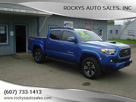 2018 Toyota Tacoma for sale at Rockys Auto Sales, Inc in Elmira NY